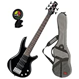 Kyпить Ibanez GSRM25BK Black 5-String MIKRO Junior Bass Guitar w/ Free Ibanez Gig Bag and Tuner! на Amazon.com