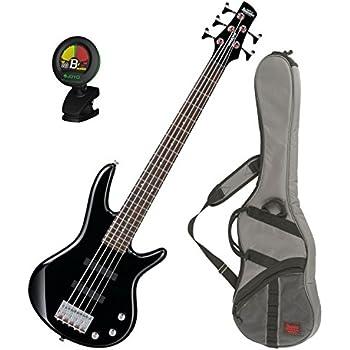ibanez gsrm25bk black 5 string mikro junior bass guitar w free ibanez gig bag and. Black Bedroom Furniture Sets. Home Design Ideas