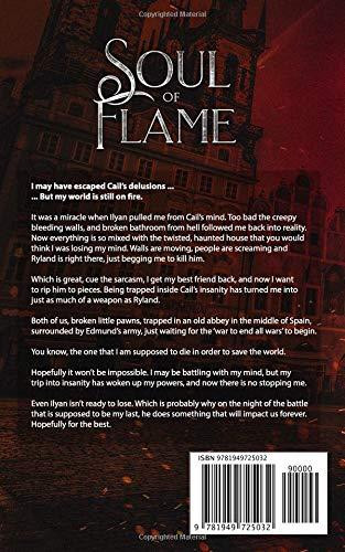 Soul Of Flame Imdalind Series Rebecca Ethington 9781949725032