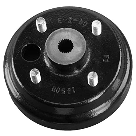 E Z GO 19186G1P Brake Drum Hub Assembly Electric