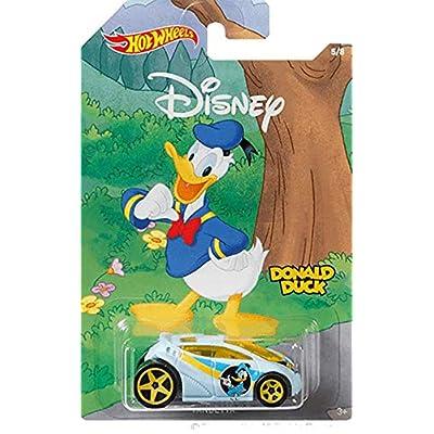 Hot Wheels Disney Vandetta ( Donald Duck ): Toys & Games