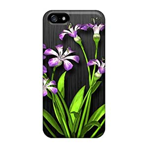Faddish Phone Vector Flowers Cases For Iphone 5/5s / Perfect Cases Covers