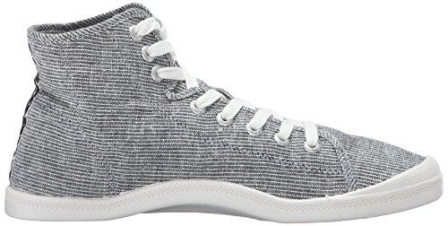 Roxy Kvinna Rory Mitten Skor Mode Sneaker Blå / Vit