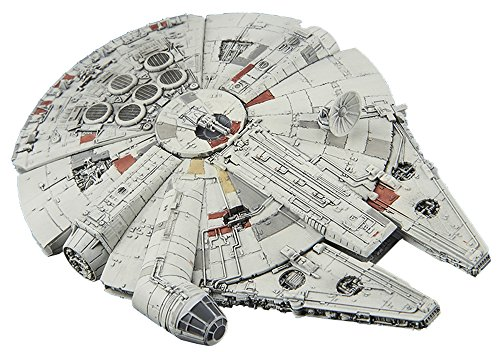 - Bandai Vehicle Model 006 Star Wars Millennium Falcon Plastic Model Kit -Story of Roue one-