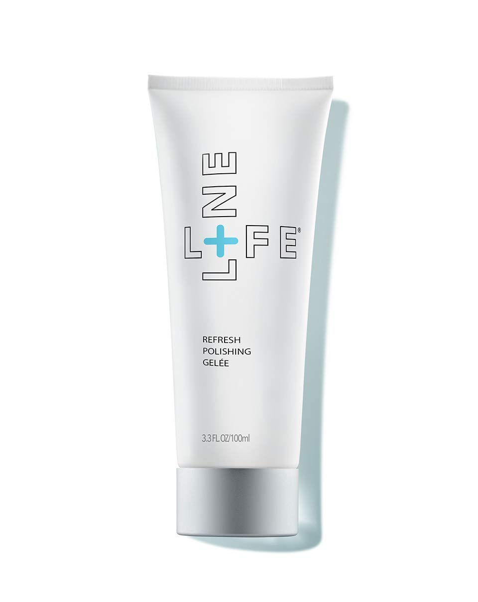 Lifeline Refresh Polishing Gelée Ultra-soft luffa particles made from renewable sources, gently clean and remove dead skin cells