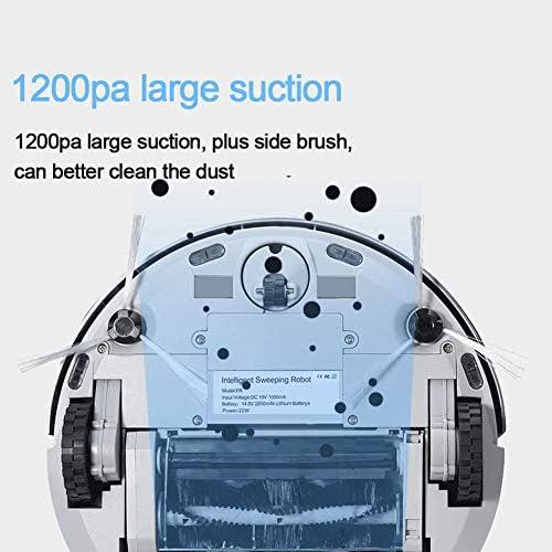 Bluetooth Mini Robot Aspirateur Pour Appareils Sans Fil Wifi Accueil Robot Aspirateur Humide Et Sec Mop Robot Laver Réservoir D\'eau Automatique Rechargeable