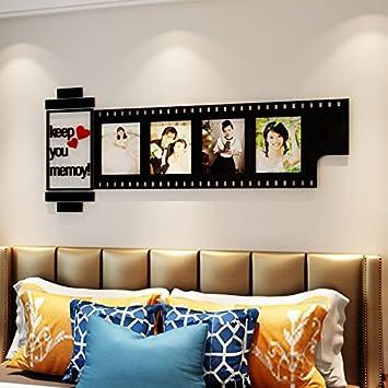 LiTie Acryl 3d Wall Kunst Film Frame Modernes Wohnzimmer Schlafzimmer Fotos  Als Hintergrund Wandspiegel Dekorationen,