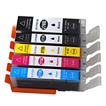 Colour-store 5Pack Compatible Ink Cartridge Replacement for Canon 270 271 XL PGI-270XL CLI-271XL for Canon PIXMA MG7720 MG6820 MG5720 MG5722 MG6822 MG5721
