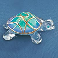 Glass Baron Tiffany The Turtle Glass Figurine