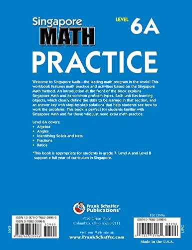 Buy not available na singapore math practice: level 6a