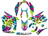 Senge Graphics All Years Yamaha Phazer, Zany Green Sled Wrap