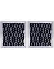 Podoy 8206230A Charcoal Filter for Whirlpool Microwave Hood,Replaces for 8206230A, PS1871363,AP4299744-(Pack of 2)