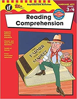 Reading Comprehension, Grades 3 - 4 (The 100+ Series(TM)) by Holly Fitzgerald (2003-01-01)