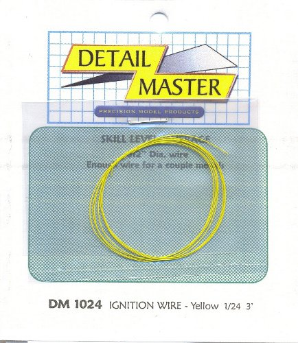 3ft. Ignition Wire Yellow Detail Master