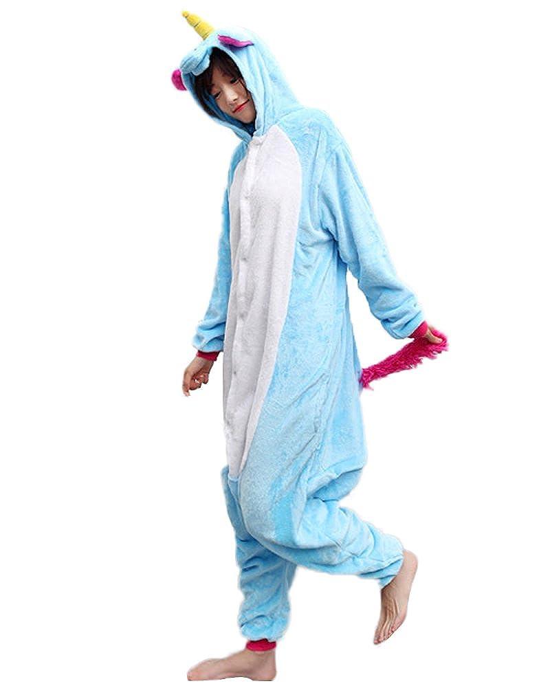 da0ec96cec359 Minetom Adulte Unisexe Anime Animaux Cosplay Ensemble Combinaison Onesie  Pyjama À Capuche Halloween Costume Soirée De ...
