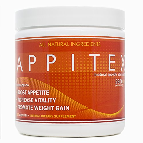 Appitex Weight Gain Pills for Men & Women Appetite Stimulant | Natural Orexigenic Supplement by VH Nutrition