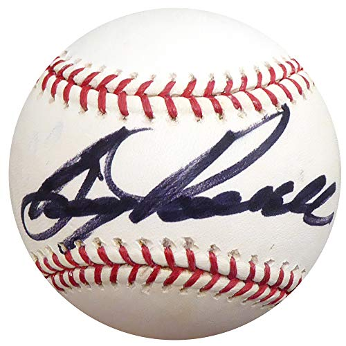 Boog Powell Autographed Official MLB Baseball Baltimore Orioles Beckett BAS - Baseball Autographed Boog Powell