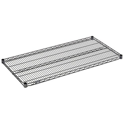 Nexelon Wire Shelving Add-On, Blue Epoxy, 36