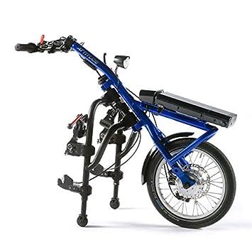 Rapidito aporta un toque de-en forma de actitud mano de la potencia de mochila para silla de ruedas cámaras de aire para bicicleta (colores surtidos): ...