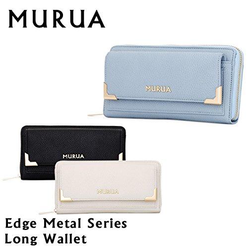 premium selection 87a5c 4dcf4 新しい (ムルーア) MURUA 長財布 MR-W442 EDGE METALシリーズ ...