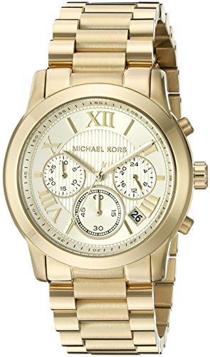 Michael Kors Women's Cooper Gold-Tone Watch MK6274