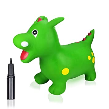 Amazon.com: Bouncy Horse Hopper para niños pequeños: saltar ...