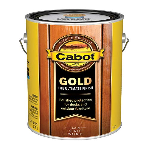(Cabot/Valspar 3471-07 3471 1 Gallon Sunlit Walnut Wood Finish, Gallon)