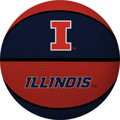 NCAA Illinois Fighting Illini Crossover Full Size Basketball by Rawlings