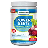 NuTherapy Power Beets Powder - Circulation Superfood Acai Berry Pomegranate Flavour 330 Gram