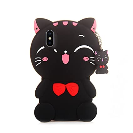 kawaii iphone x case