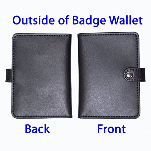 Emotional Support Dog Badge & Leather Wallet with 2 Custom Photo ID's & Registration on US Service Dog Registry by Just 4 Paws (Image #2)