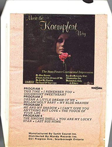 The Stan Foster Continental Impression: Music the Kaempfert Way (Import) 8 Track ()
