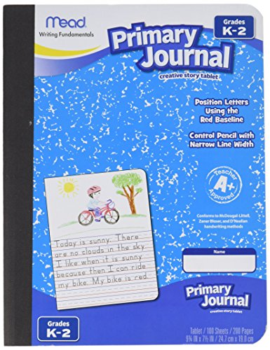 Mead Primary Journal Creative Story Tablet, Grades K-2 2 Pack ()