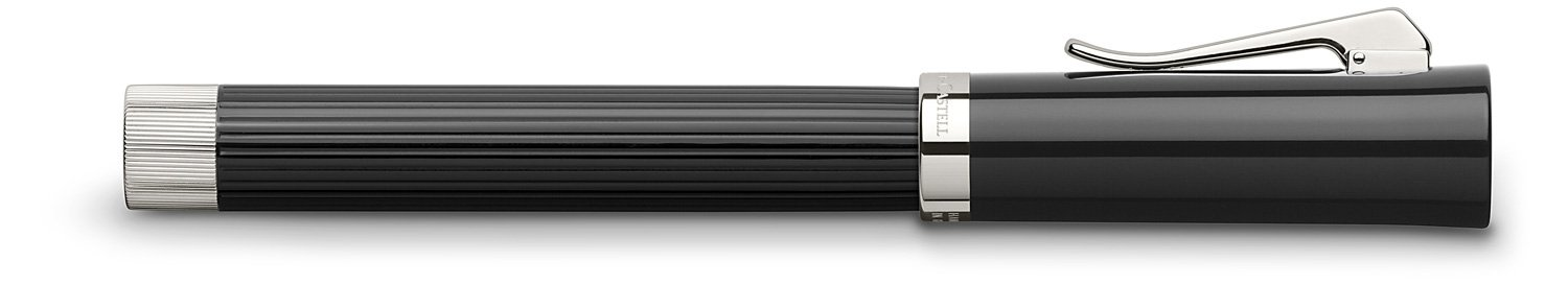 GRAF von Faber-Castell Intuition Fluted Rollerball Pen - Black by Faber-Castell (Image #2)