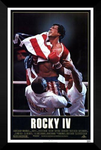 Rocky IV Movie Poster No Frame