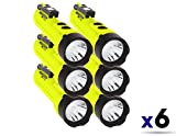 Nightstick XPP-5422GMX X-Series Intrinsically Safe Dual-Light Flashlight with Dual Magnets Green/Black (6 Pack)