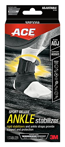 Ace Sport Deluxe Ankle Stabilizer, Adjustable (Ace Ankle Support)