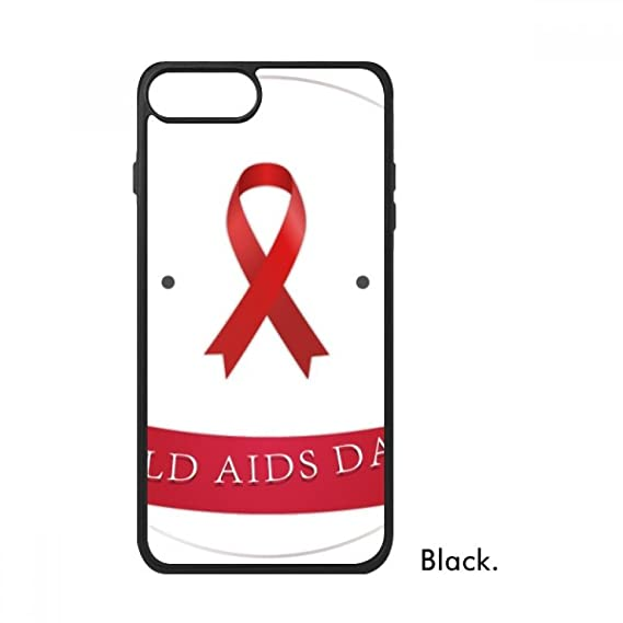 HIV 1st December Red Ribbon AIDS Day For iPhone 8/8 Plus Cases Phonecase  Apple