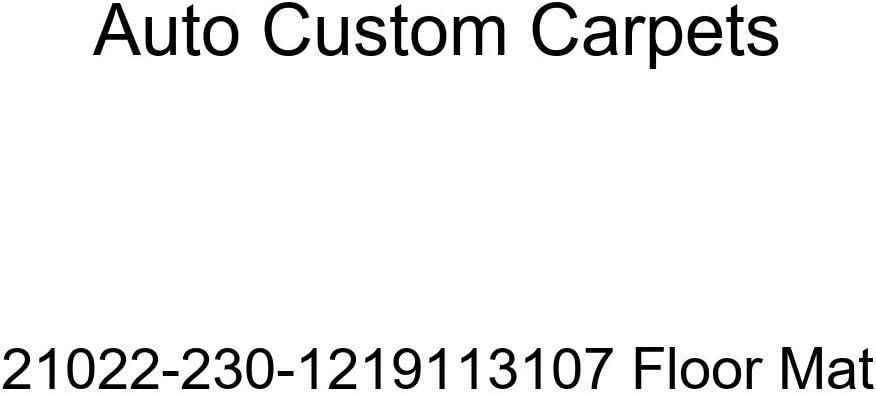 Auto Custom Carpets 21022-230-1219113107 Floor Mat