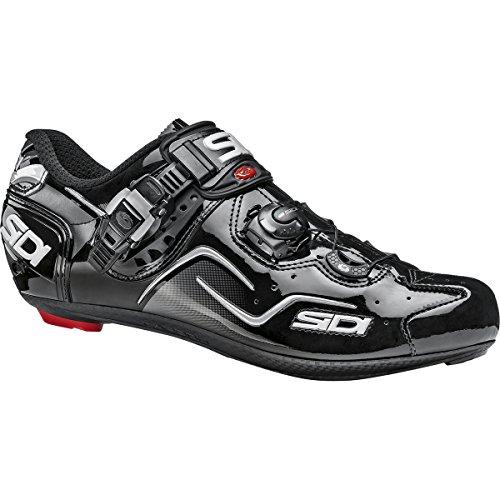 結婚式冒険者レザー(シディ) Sidi Kaos Carbon Shoes メンズ ロードバイクシューズBlack [並行輸入品]