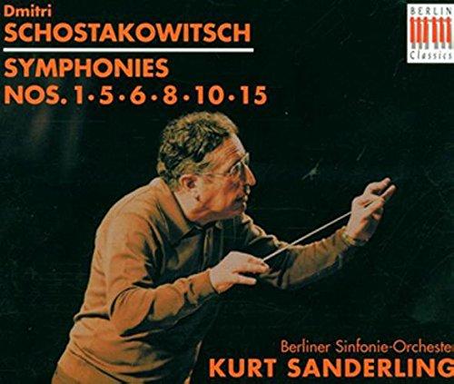 D. Shostakovich, Kurt Sanderling, Berlin Symphony Orchestra - Shostakovich:  Symphonies 1, 5, 6, 8, 10 & 15 - Amazon.com Music