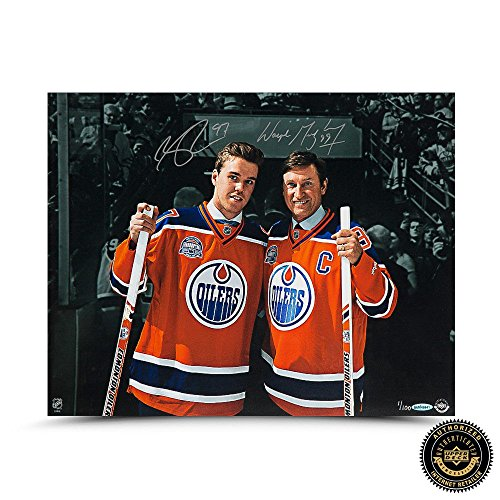 Wayne Gretzky & Connor McDavid Autograph - Indianapolis Colts Signed 16x20 Photo Shopping Results