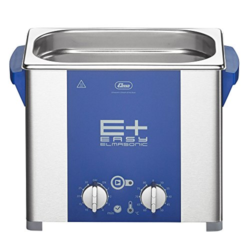 Elmasonic 107 1657 EP30H Tabletop Ultrasonic Cleaner for Jewelry, Lab/Dental Cleaning with Deep Clean Pulse Mode, Heater/Timer, 0.75 gal Tank Capacity