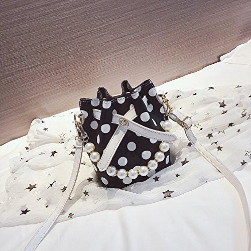 Bolso Bolso B Pequeño nbsp;Gift la JUSTYOU Señoras de Retro Bolso nbsp; Moda Nuevo Bag Simple del Cadena Bolso nbsp; C POPO Messenger de 6nzWA6qRS