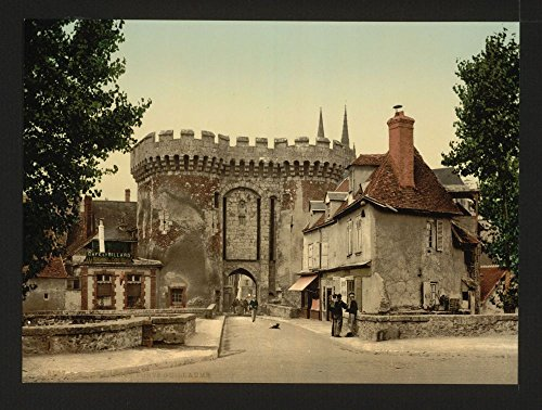 Historic Photos 1890 Photo Guillaume gate, Chartres, France -