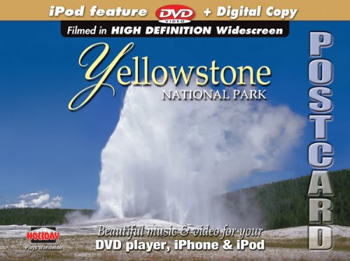 Yellowstone National Park DVD Postcard ()