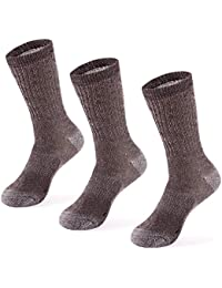 3 Pairs Merino Wool Blend Socks - Choose Your Size