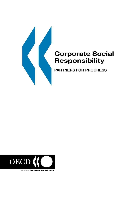 Corporate Social Responsibility: Partners for Progress (Governance (Paris, France).)
