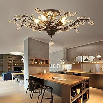 Angelo Lockers Deckenleuchten-Deckenleuchte LED Wohnzimmer Moderne ...