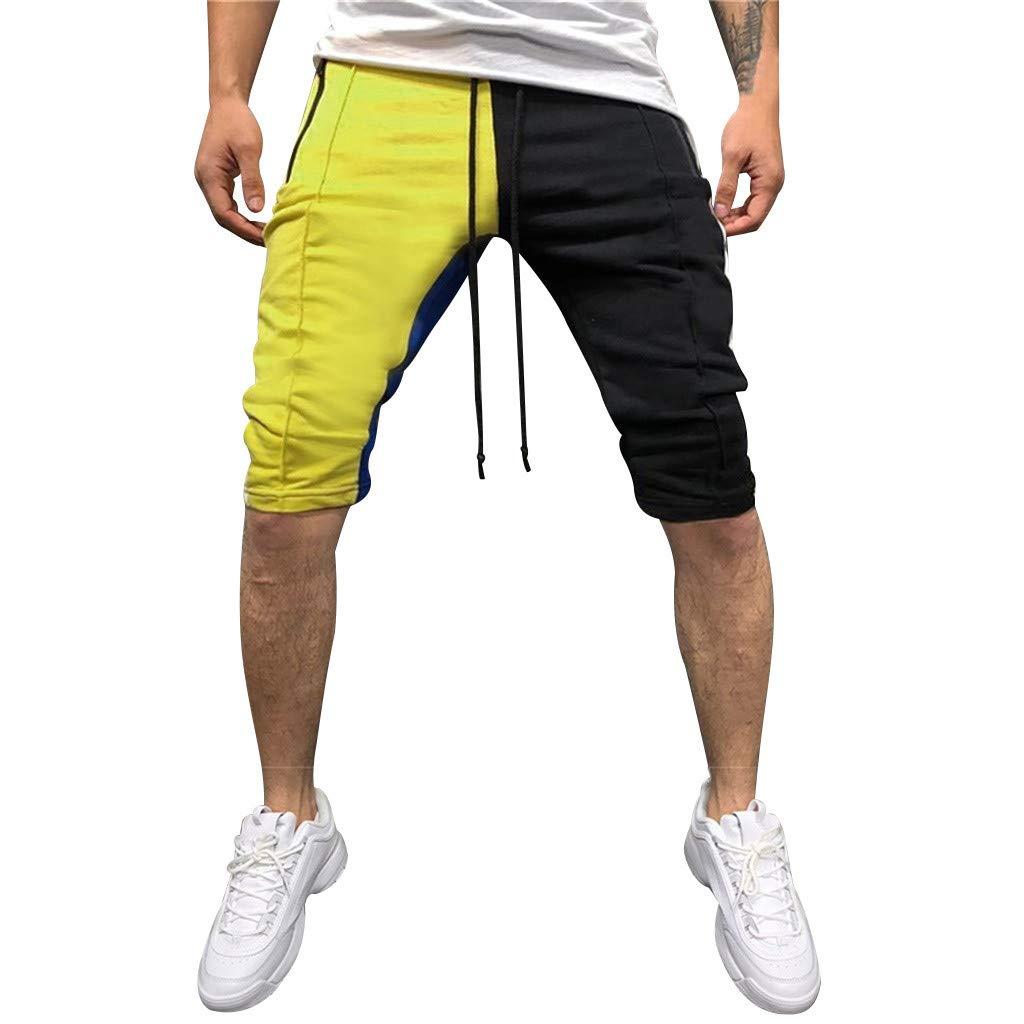 Bermuda Uomo pantaloncino Con Tasconi Laterali Cotone Shorts Casual Basic m//3xl